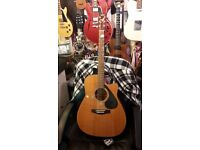 Yamaha FG-411SCE Electro Acoustic Guitar (Great Condition)
