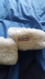 Girls / womens hunter welly socks