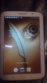 Samsung Tab 8 White
