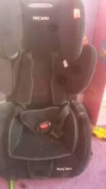 Reccaro sport car seat