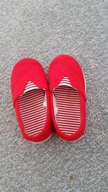Small bundle of baby girl summer shoes dize 5