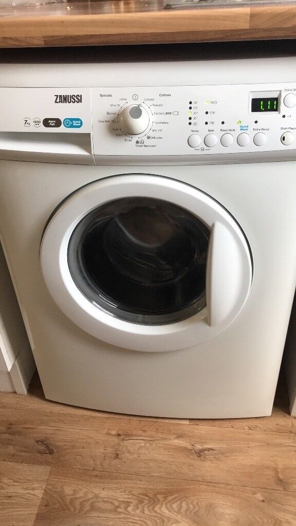 Zanussi 1600 spin washing machine
