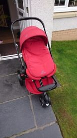 Quinny moodd buggy rumour red