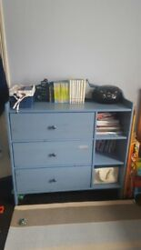IKEA childrens chest of draws storage unit/baby changing