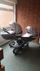 Stroller Twin Tako Omega