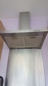 Baumatic Silver Cooker Hood perfect condition