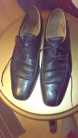 Leather shoes from Barkers - Size 9.5