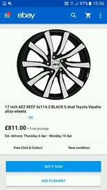 AEZ REEF 5X114 FITMENT (JAP) ALLOYS AND TYRES