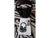 Thomson WHP3001BK Rechargeable Wireless Headphones