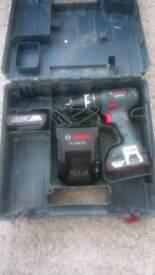 Bosch 18 Volt combi drill
