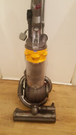 dyson dc25 yellow with 3 tools
