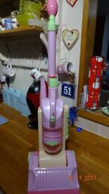 EARLY LEARNING CENTRE PINK DYSON STYLE TOY HOOVER