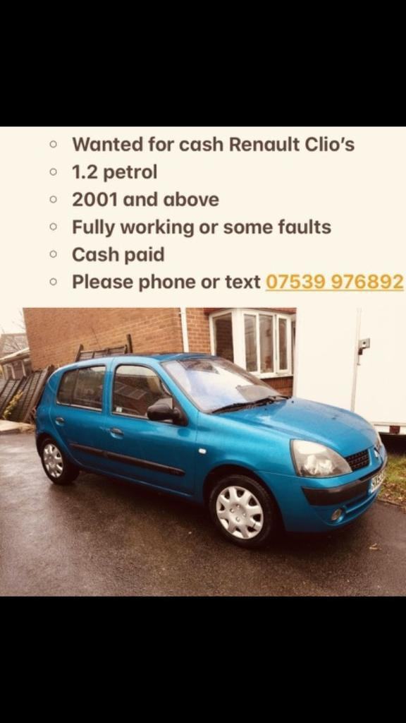 Renault Clio for £