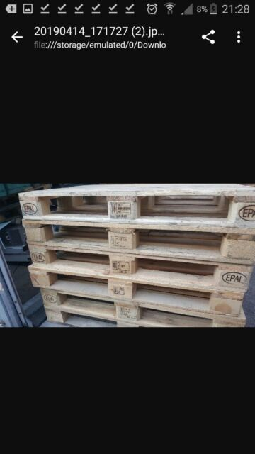Euro Epal Wooden Pallets 120x80 Cm Furniture Garden Beds Shipping Etc Free Local Delivery 5 50 In Clapham London Gumtree