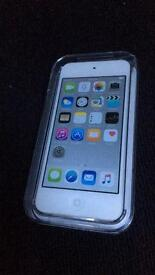 iPod Touch 16gb silver 6th generation BRAND NEW