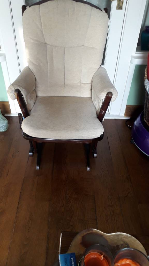 Nursing chair and foot rest