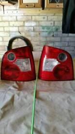 Vw polo rear lights vgc