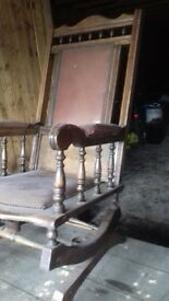 Scots rocking chair