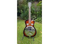 Gold Tone Paul Beard Series round neck resonator guitar