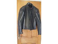 dainese leather motor bike jacket