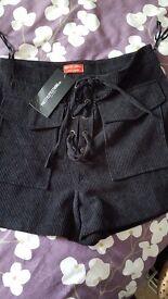 Shorts / looks like little skirt on