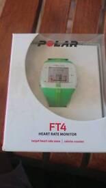 Polar heart rate monitor