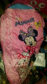 minnie sleeping bag