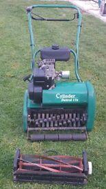 Cylinder petrol 17s lawnmower