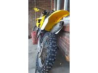 Suzuki rm250 power nor cr kx ktm pit bike crf kxf quad