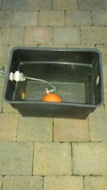 Water tank for loft