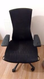 Herman Miller Embody Office Chair in Black