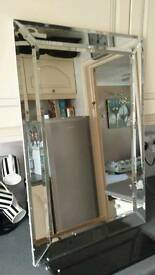 30x20 inches bevelled glass mirror brand new boxed ready to hang