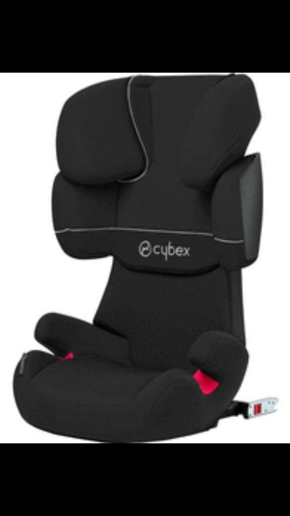 Cybex Solution X-Fix Car Seats (2 available)