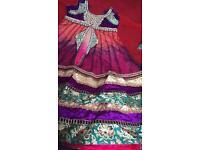 Girls size M/L Sai Fashions Indian Asian party dress/ wedding attire