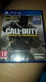 Call Of Duty Infinite Warfare PS4 new and sealed