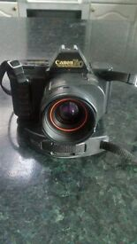 CANON T80 35MM SLR CAMERA WITH 35-70MM ZOOM LENS