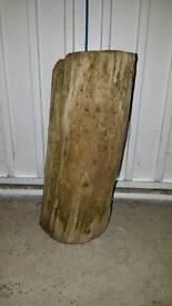 Driftwood log for aquarium/vivarium/garden