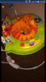 Roaring Rainforest jumperoo Excellent condition
