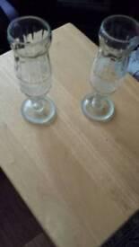 2 rare coca cola glasses