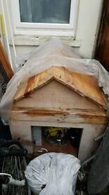 Free outside dog house