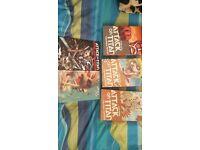 ATTACK ON TITAN MANGA/BOOKS COLOSSAL EDITION