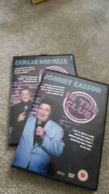 In the club comedy dvd x2 Johnny Casson & Duncan Norvelle