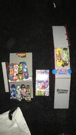 Tech decks boards and ramps