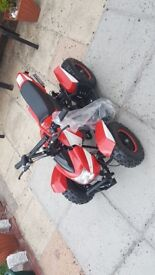 Kids 50cc qaud brand new