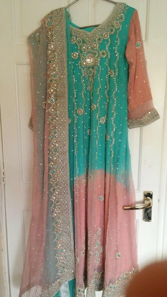 asian bridal/wedding dress/lengha new | in Walsall, West Midlands ...