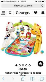 fisher price 3 in 1 play mat