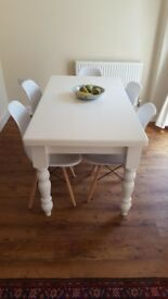 Beautiful vintage farmhouse dining table