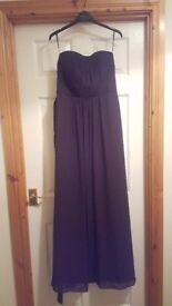 Womens formal/ bridesmaid dress size 12 (new)