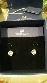 Swarovski earings (brand new)