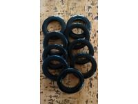 Black Curtain Eyelets by Rufflette